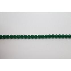 150 perles verre chryso 12mm
