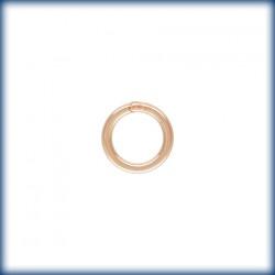 20 Anneaux fermes 5.0mm Fil 0.76mm 1/20 14K Rose Gold Filled