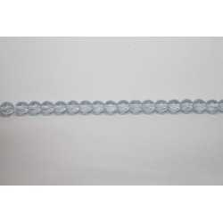 300 perles verre ciel lustre 8mm