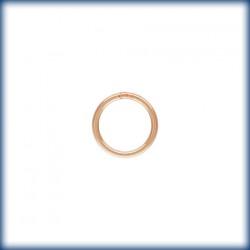 10 Anneaux fermes 7.0mm Fil 0.76mm 1/20 14K Rose Gold Filled