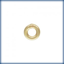 25 Anneaux fermes 3mm fil 0.76mm 1/20 14K Gold Filled
