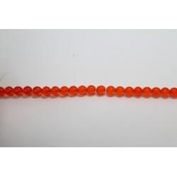 600 perles verre jacinthe 6mm
