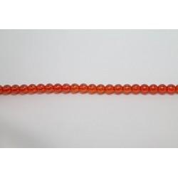 600 perles verre jacinthe lustre 6mm
