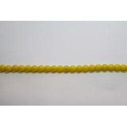 1200 perles verre lemon 4mm