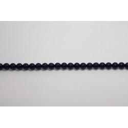 1200 perles verre marine 3mm