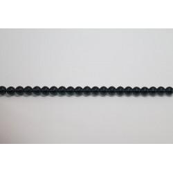 150 perles verre montana 12mm