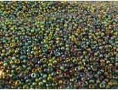 250 grs rocaille emeraude AB 9/0