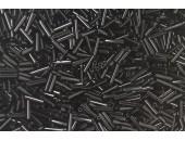 250 grs rocaille tube noir 10mm