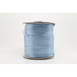 50 Mts Satin 1mm Bleu A22
