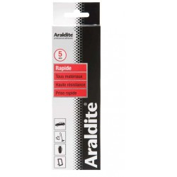 Colle araldite rouge Rapide 2x50 Ml