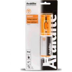 Colle araldite seringue 90 Sec 24 Ml