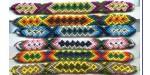 12 Bracelets Brésiliens 15mm