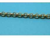 1 metre Chaine laiton doree