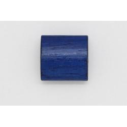 250 tonneaux plats bois bleu marine 6x12x12 mm