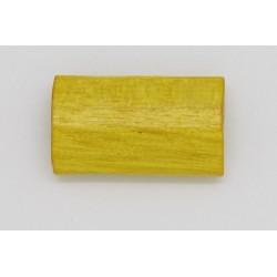 100 tonneaux plats bois jaune 6x12x20 mm