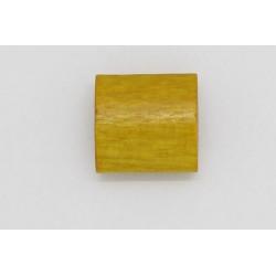 250 tonneaux plats bois jaune 6x12x12 mm