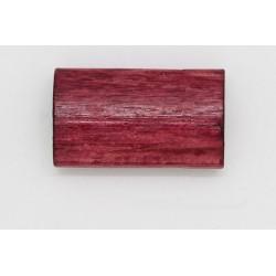 100 tonneaux plats bois bordeaux 6x12x20 mm