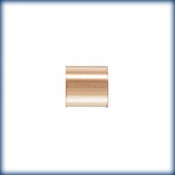 50 Perles a ecraser 2.0x1.4mm 1/20 14K Rose Gold Filled