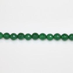 Perles Facettes Jade ''CANDY'' teinté 8mm Vert 02