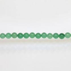 Perles Rondes Jade ''CANDY'' teinté 6mm Vert 02