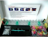 Kit départ loom bands SILICONE