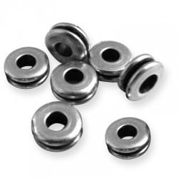 100 Rondelles 7x2.9mm (Trou 3.2mm)