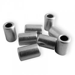 50 Tubes 5x7.5mm (Trou 3mm)