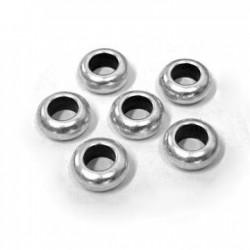 50 Rondelles 9x1.2mm (Trou 5mm)