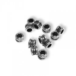 100 Tubes 4x3mm (Trou 2.5mm)