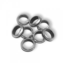 50 Rondelles 10x3.7mm (Trou 7mm)