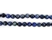 Perles Facettes Sodalite 4mm - Fil de 40 Centimetres