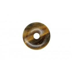 2 donuts pierre oeil de tigre 35 mm