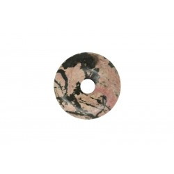2 donuts pierre rhodonite 35 mm