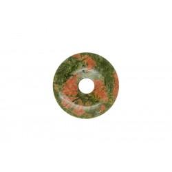 2 donuts pierre unakite 35 mm