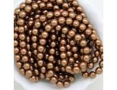 300 nacrées bronze 10mm