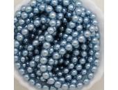 480 nacrées bleu hawai 6mm
