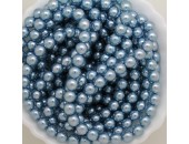 450 nacrées bleu hawai 8mm