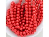 720 nacrées rubis clair 4mm