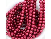 450 nacrées rubis fonce 8mm