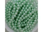 450 nacrées vert tilleul 8mm