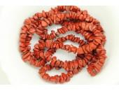 Chips Jaspe rouge 90cm
