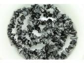 Chips obsidienne snowflake 90cm