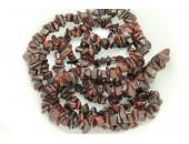 Chips oeil de tigre rouge 90cm