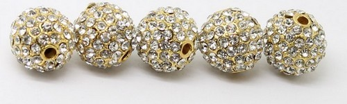 Boules strass.