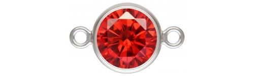 Sertis AG925 2 anneaux.